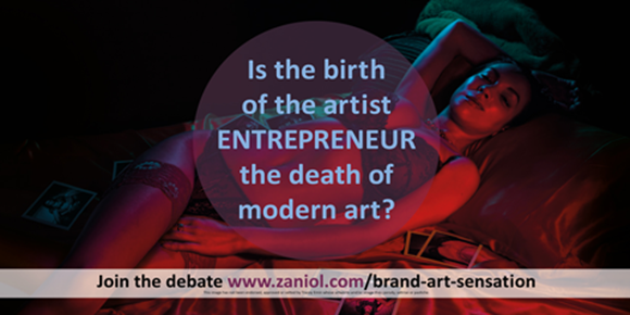 Picture of Is the birth of the artist-entrepreneur the death of modern art?